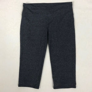 Athleta Capri Pants in Heather Grey size Medium